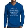 I'm An Engineer Good At Maths Mens Hoodie