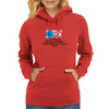 I'm at the age where4 an All-Nighter means I didn't have to get up to Pee! Womens Hoodie