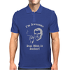 I'm Awesome  Funnycomic deal with it party retro cool Mens Polo