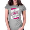 I'M BIG IN Womens Fitted T-Shirt