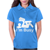 I'm Busy Womens Polo