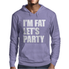 I'm Fat Let's Party Mens Hoodie