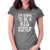 I'm Going To Be A Big Sister Womens Fitted T-Shirt