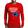 Im Going To Grow Up Being Little Miss Bossy Mens Long Sleeve T-Shirt