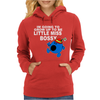 Im Going To Grow Up Being Little Miss Bossy Womens Hoodie