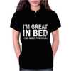 I'm Great In Bed I Can Sleep For Hours Womens Polo