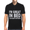 I'M GREAT IN BED Mens Polo
