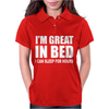 I'm Great In Bed Womens Polo