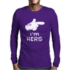 I'm Hers Mens Long Sleeve T-Shirt