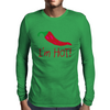 I'm hot! Mens Long Sleeve T-Shirt