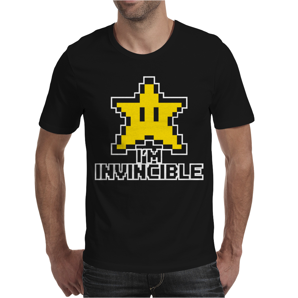 I'm Invincible Mens T-Shirt