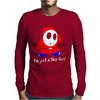 I'm Just A Shy Guy Mens Long Sleeve T-Shirt