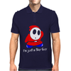 I'm Just A Shy Guy Mens Polo