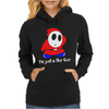 I'm Just A Shy Guy Womens Hoodie