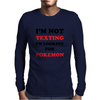 I'm Looking For Pokemon Mens Long Sleeve T-Shirt