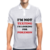 I'm Looking For Pokemon Mens Polo