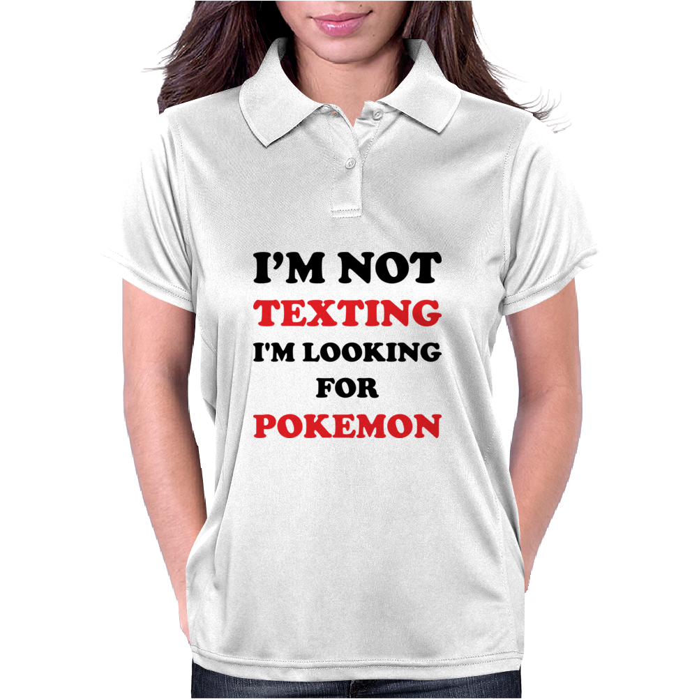 I'm Looking For Pokemon Womens Polo