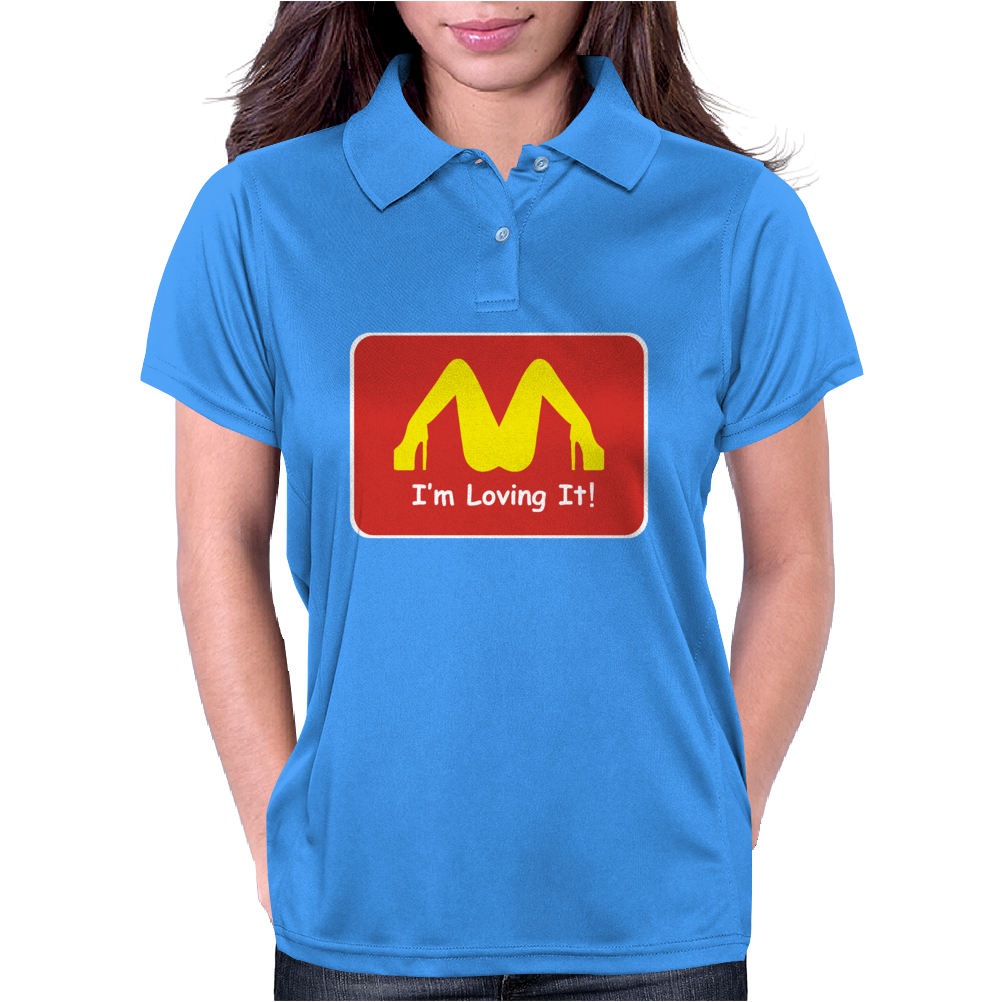 I'M LOVING IT ! FUNNY Womens Polo