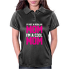 I'm Not A Regular Mom Cool Womens Polo