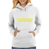 I'M NOT A WEATHERMAN Womens Hoodie
