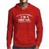 I'm Not Alcoholic I'm A Drunk Mens Hoodie