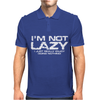 I'm Not Lazy - I Really Enjoy Doing Nothing Mens Polo