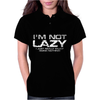 I'm Not Lazy - I Really Enjoy Doing Nothing Womens Polo