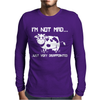 I'm Not Mad Just Disapointed Mens Long Sleeve T-Shirt