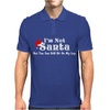 I'm Not Santa But You Can Sit On My Lap Mens Polo
