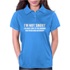 I'm not short Awesome Funny Womens Polo