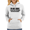 I'm not short Awesome Womens Hoodie