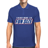 I'm Not Short I'm Fun Sized Snickers Marathan Funny Mens Polo