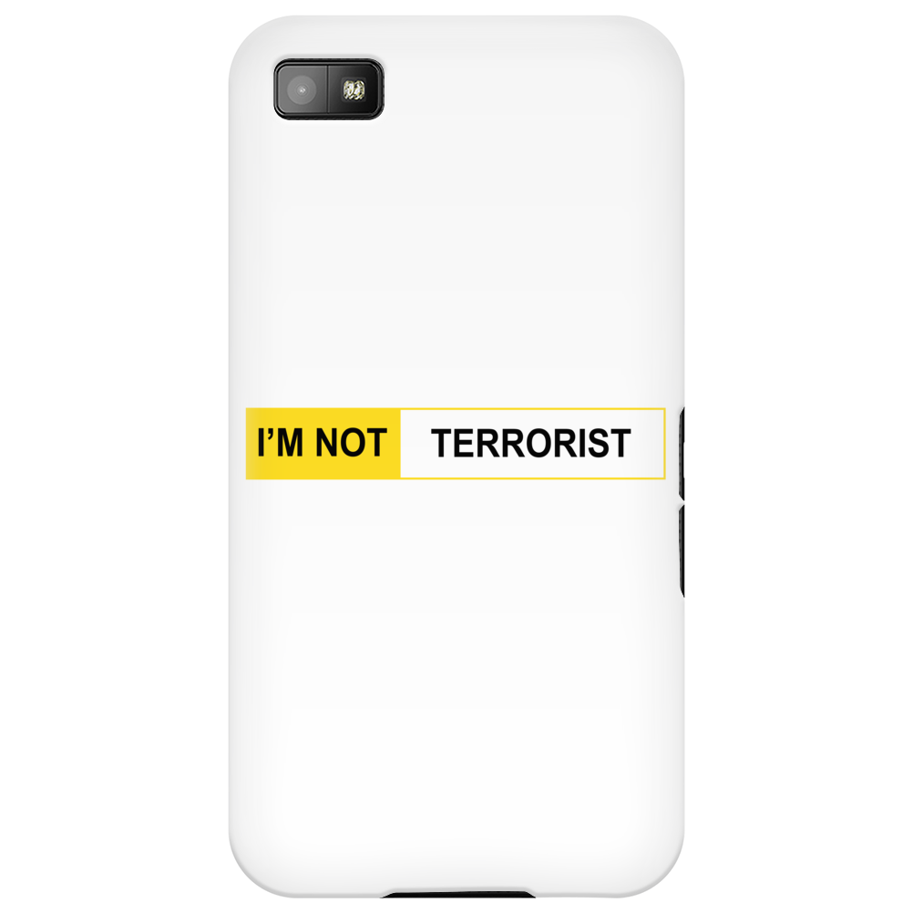 I'M NOT TERRORIST Phone Case