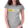 I'M NOT TERRORIST Womens Fitted T-Shirt