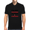I'm Not Texting I'm Looking For Pokemon Mens Polo