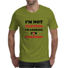I'm Not Texting I'm Looking For Pokemon Mens T-Shirt