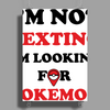 I'm Not Texting I'm Looking For Pokemon Poster Print (Portrait)