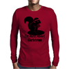 I'm Nuts About Christmas Mens Long Sleeve T-Shirt