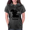 I'm Nuts About Christmas Womens Polo