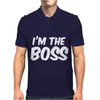 I'm The Boss Funny Nerd Mens Polo