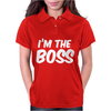 I'm The Boss Funny Nerd Womens Polo