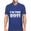 I'M THE BOSS Mens Mens Polo