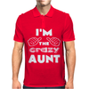I'm the Crazy Aunt Mens Polo