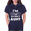 I'm the Crazy Aunt Womens Polo