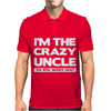 I'm The Crazy Uncle Mens Polo