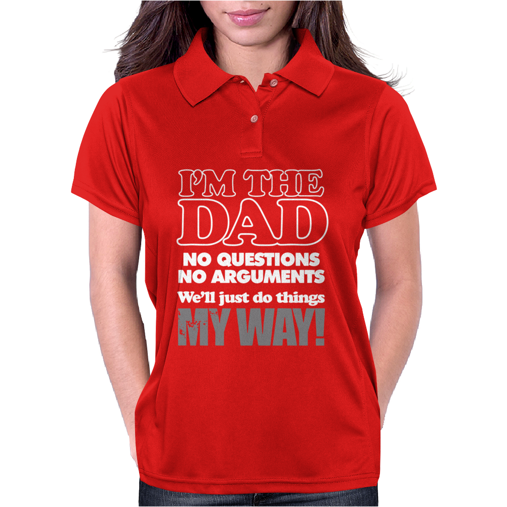 I'm The Dad Womens Polo