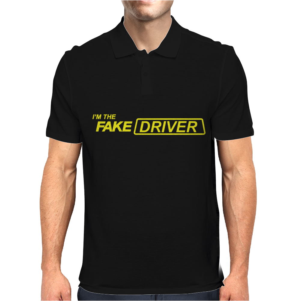 I'm The Fake Driver Mens Polo