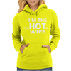 Im the Hot Wife Womens Hoodie