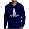 I'm Two Let's Party Mens Hoodie