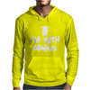 I'm With Genius Mens Hoodie